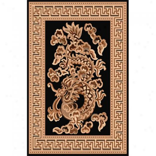 Home Dynamix Sing 5 X 7 Black 799 Area Rugs
