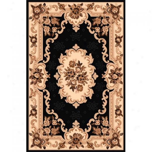 Home Dynamix Sing 5 X 7 Black 792 Area Rugs