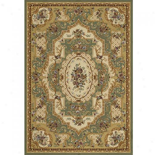 Home Dynamix Victoriana 3 X 8 Light Green Region Rugs