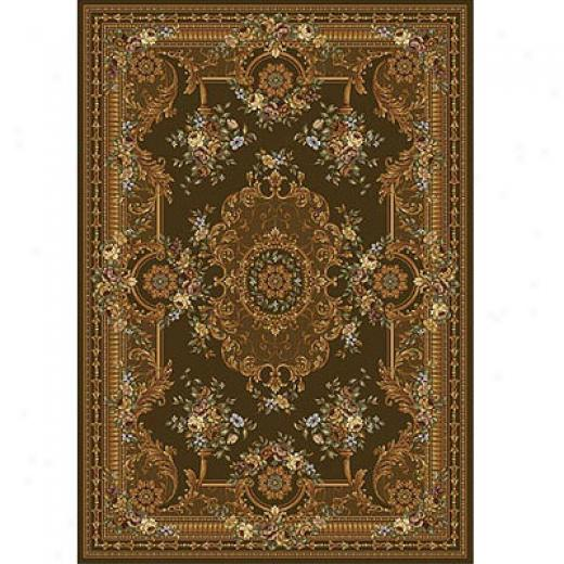Home Dynamix Victoriaana 5 X 8 Cocoa Area Rugs