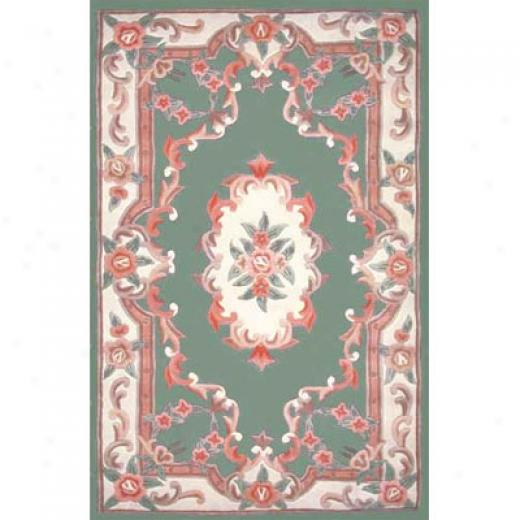 Home Dynamix Yash 2 X 5 Green Area Rugs