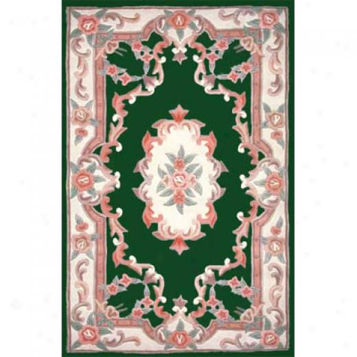 Home Dynamix Yash 5 X 8 Hunter Green Area Rugs