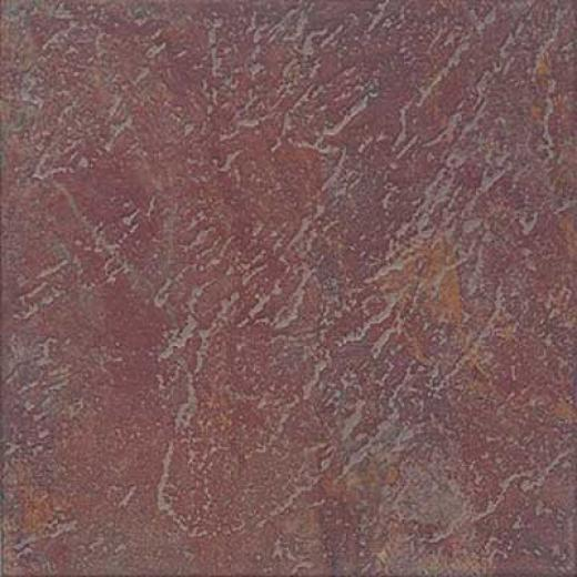Interceramic Calcutta Slate 16 X 1 Manali Red Tile & Stone