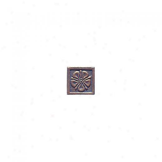 Interceramic Metal Impressions Roman Flowers 2 X 2 Deco B Roman Flowers Deco B Tile & Stone