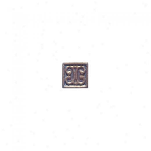 Interceramic Metal Impressions Metalart 2 X 2 Deco C Metalart Deco C Tile & Stone