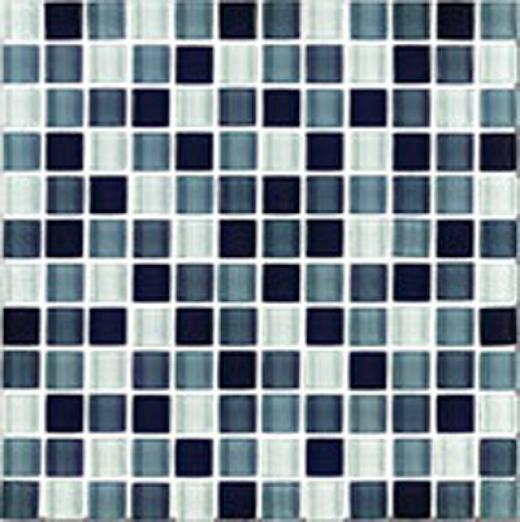 Interceramic Glimmer Blends Interglass (mosaic) 1 X 1 Matte Checkerboard Tile & Sgone