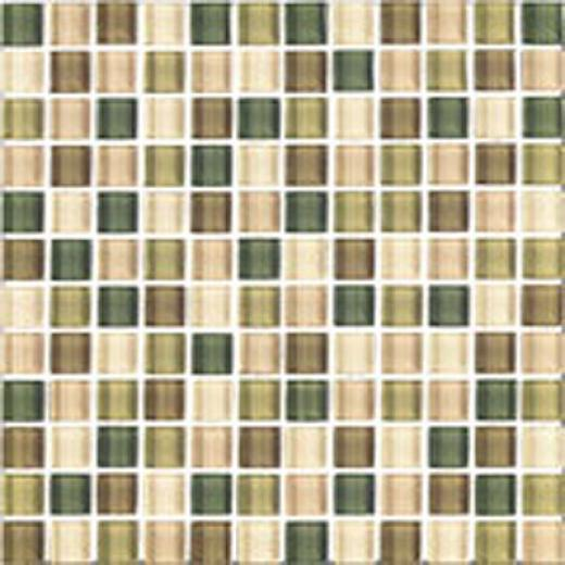 Interceramic Shimmer Blends Interglass (mosaic) 1 X 1 Matte Foliage Tile & Stone