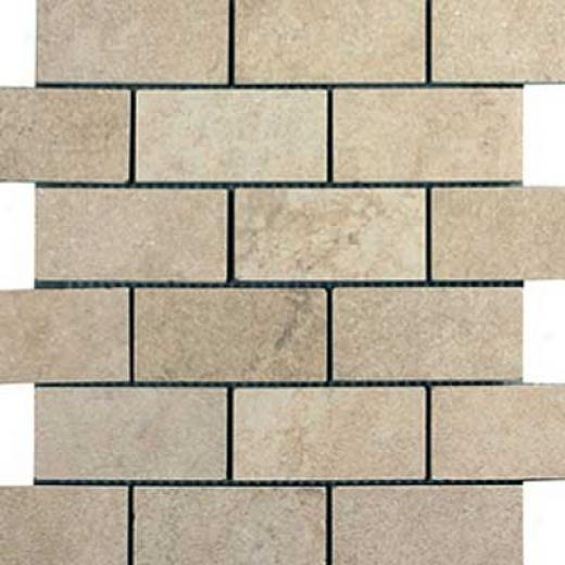 Italgres Buxy Brick Mosaic Marfil Tile & Stone