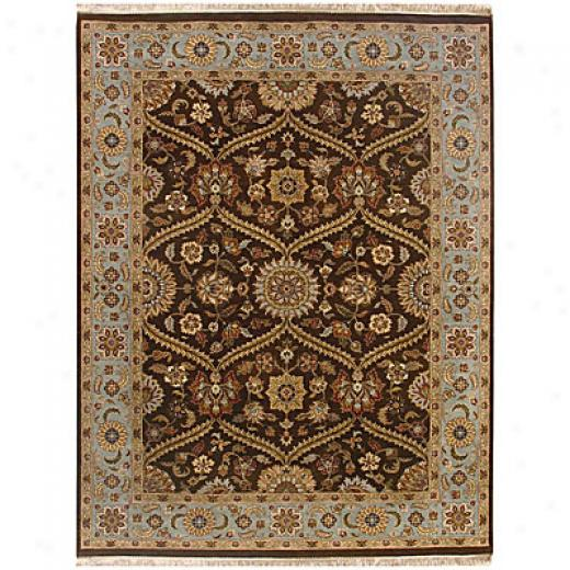Jaipur Rugs Inc. Atlantis 8 X 1O Pani Tobacco Ice Blue Area Rugs