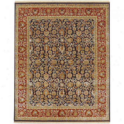 Jaipur Rugs Inc. Aurora 10 X 14 Kaimi Medium Ivory Gold Area Rugs