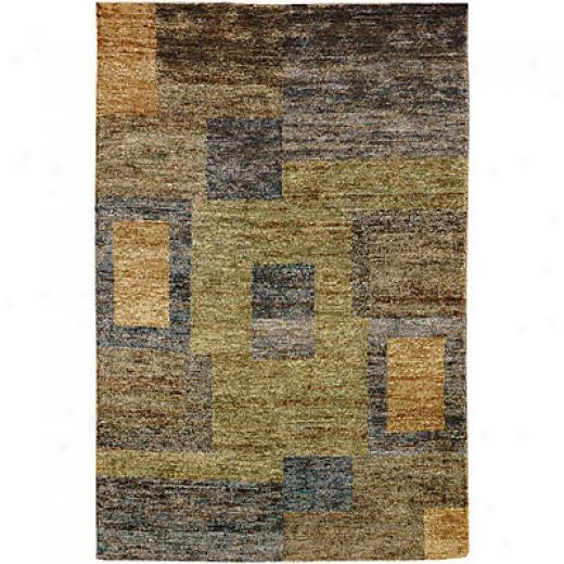 Jaipur Rugs Inc. Reggae 3 X 5 Ocho Rios Blue Green Area Rugs