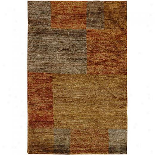 Jaipur Rugs Inc. Reggae 5 X 8 Port Maria Brass Mushroom Area Rugs