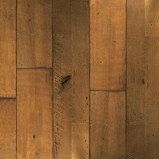 Junckers Olde World Variation Antique/sculpted Thatch Hardwood Floorimg