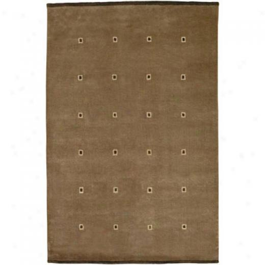 Kaleen Himalayan Treasure 4 X 6 Pinnacle Eggplant Area Rugs