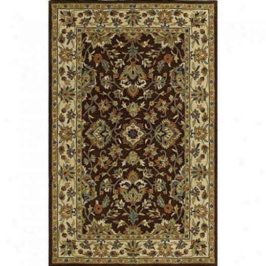 Kaleen Khazana 5 X 8 St George Chocolate Area Rugs