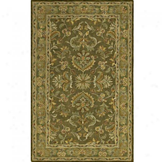 Kaleen Khazana 5 X 8 Virginia Pesto Area Rugs