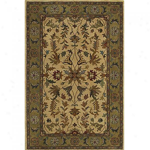 Kaleen Mysstical Garden 2 X 8 Runner Flower Chocolate Area Rugs