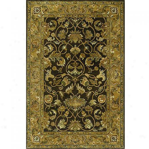 Kalen Mystical Garden 8 X 10 Blossom Chocolate Area Rugs