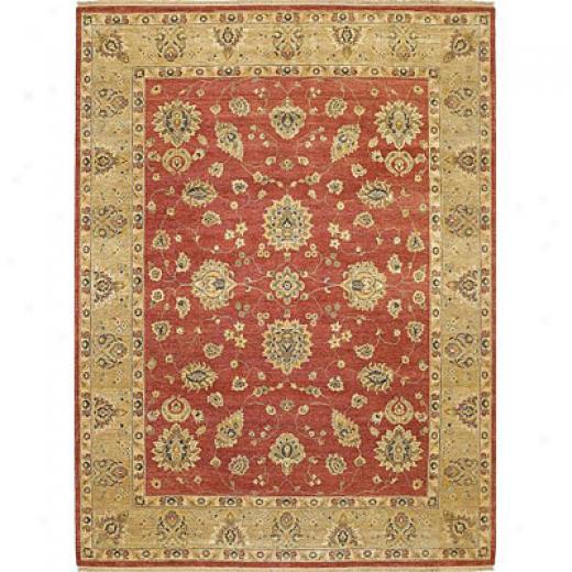 Kaleen Royal Signature 10 X 14 Ganesh Red Yard Rugs