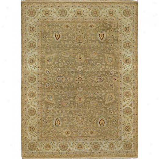Kaleen Royal Signature 6 X 9 Demonte Beige Area Rugs