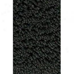 Kaleen Shag Tika 8 X 10 Black Area Rugs