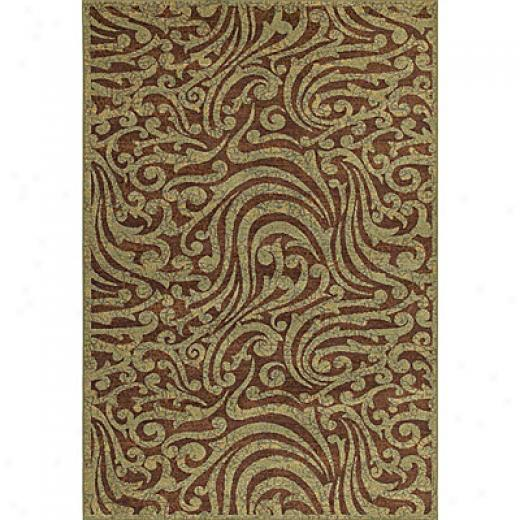 Kaleen Viceroy 5 X 8 Daltry Mocha Area Rugs