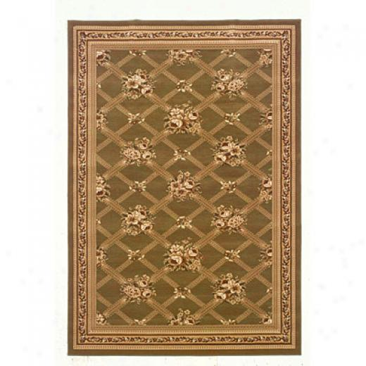 Kane Carpet American Dream 5 X 8 Parisienne Autumn Treklis Area Rugs