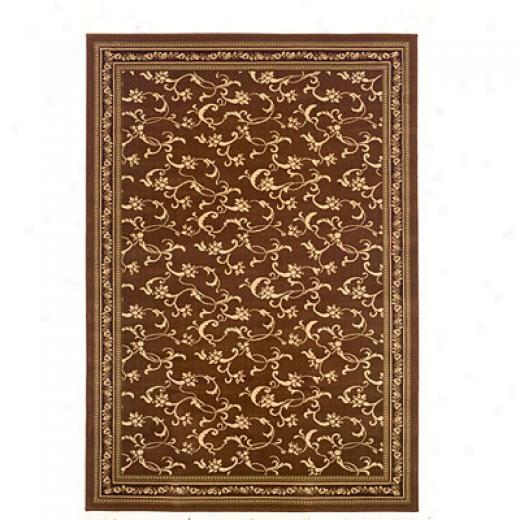 Kane Carpet American Dream 4 X 5 Divine Luxury Coffee & Cream Area Rugs