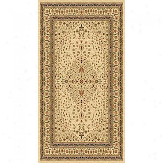Kane Carpet American Dream 9 X 13 Medallion Neutral Area Rugs
