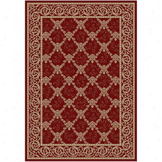 Kane Carpet American Luxury 8 X 10 Specail Edition Poinsettia Area Rugs