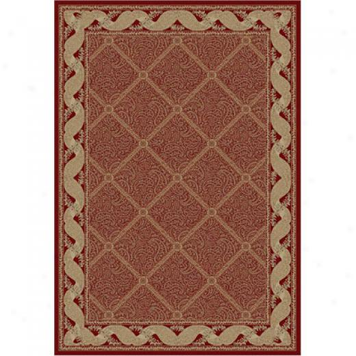 Kane Carpet Akerican Luxury 8 Round Palatial Tdellis Sultan Spice Area Rugs