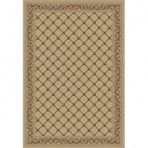 Kane Carpet Elegance 5 X 8 Traditional Trellis 24 Carat Area Rugs