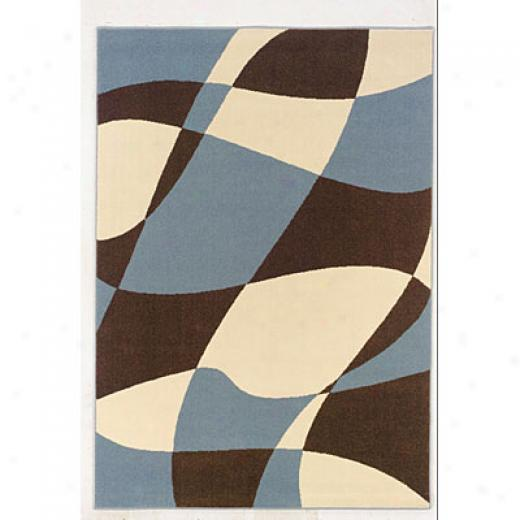 Kane Carpet Euphoria 8 X 10 Abstract Ice Area Rugs