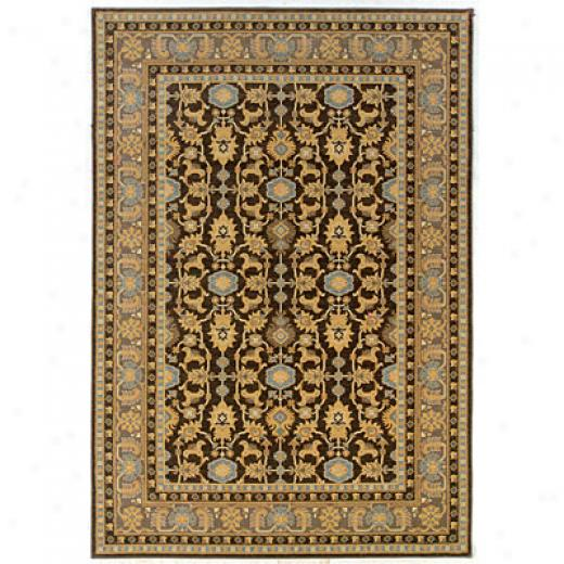 Kane Carpet Legacy 5 X 8 Oushak Charcoal Area Rugs
