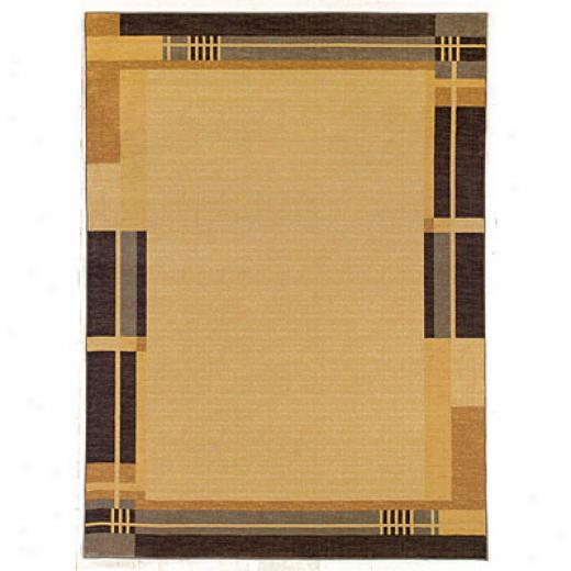 Kane Carpet Legacy 5 X 8 Border Beive Area Rugs