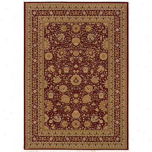 Kane Carpet Regency 2 X 3 Agra Red Area Rugs