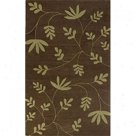 Kas Oriental Rugs. Inc. Ankara 3 X 4 Ankara Olive Ferns Area Rugs