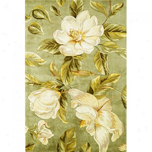 Kas Oriental Rugs. Inc. Catalina 3 X 4 Catalina Ivory Floral Chic Area Rugs