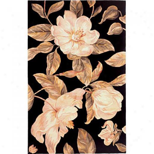 Kas Oriental Rugs. Inc. Catalina 3 X 4 Catalina Black Magnolia Area Rugs