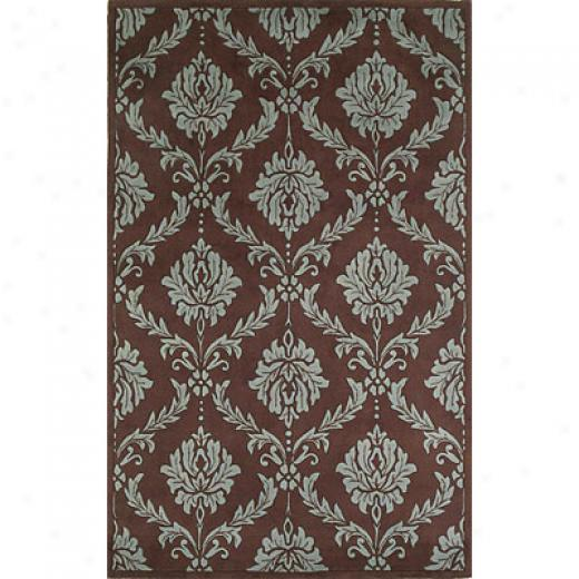 Kas Oriental Rugs. Inc. Chatea 2 X 3 Chateau Chocolate/wedgewood Area Rugs