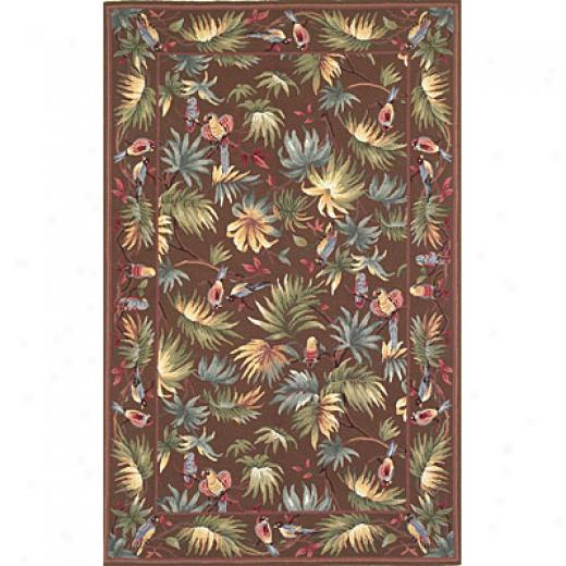 Kas Oriental Rugs. Inc. Colonial 2 X 3 Colonial Mocha Rainforest Area Rugs