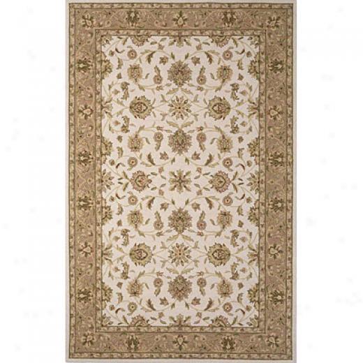 Kas Oriental Rugs. Inc. Colonial 2 X 3 Colonial Ivory/beige Mahal Area Rugs