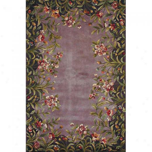 Kas Oriental Rugs. Inc. Emerakd 2 X 8 Emerald Lavender Garden Area Rugs