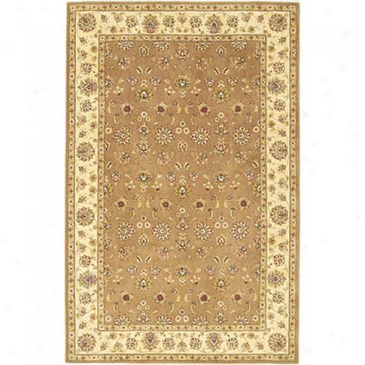 Kas Oriental Rugs. Inc. Imprial 7 X 9 Imperial Mocha Allover Kashan Region Rugs