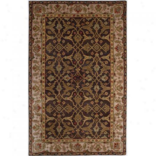Kas Oriental Rugs. Inc. Lake Palace Runner 2 X 10 Lake Palace Mocha/beige Bijar Area Rugs