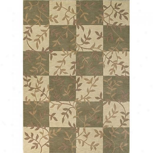 Kas Oriental Rugs. Inc. Legacy 3 X 5 Legacy Ivory/sage Serafina Area Rugs