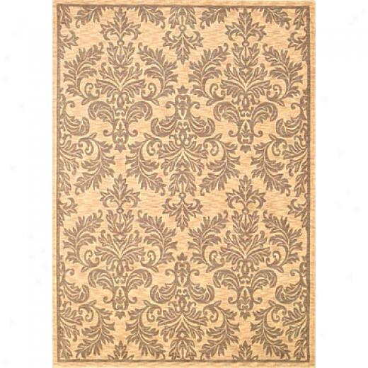 Kas Oriental Rugs. Inc. Legacy Runner 2 X 7 Legacy Ivory/sage Damask Urns Area Rugs