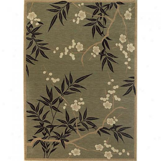 Kas Orienttal Rugs. Inc. Legacy 3 X 5 Legacy Sage/gold Oasis Area Rugs