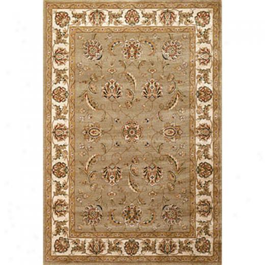Kas Oriental Rugs. Inc. Mandalay 5 X 7 Mandalay Sage/ivory Mahal Area Rugs