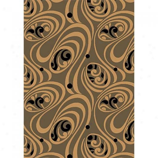 Kas Oriental Ruts. Inc. Moda 7 X 10 Moda Sage Beige Milano Area Rugs